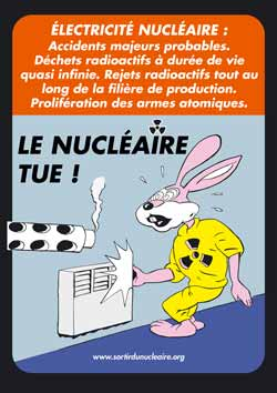 le nucleaire tue